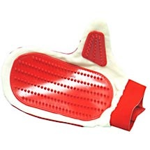 Rubber Grooming Curry Mitt